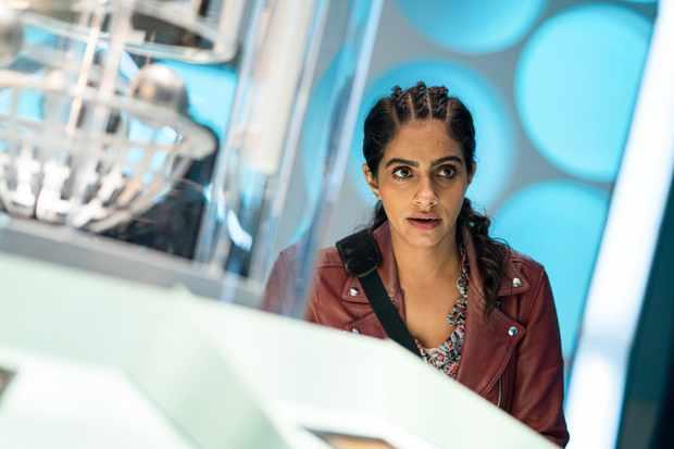 Mandip Gill as Yaz - Doctor Who _ Season 12, Episode 10 - Photo Credit: James Pardon/BBC Studios/BBC America