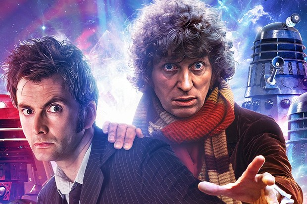 Doctor Who - David Tennant, Tom Baker (Big Finish)