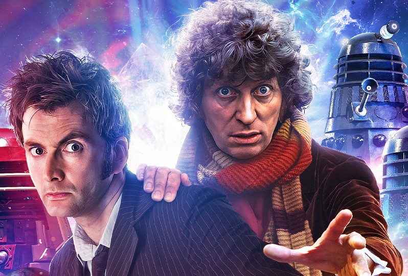 David Tennant and Tom Baker will star together in new Doctor Who