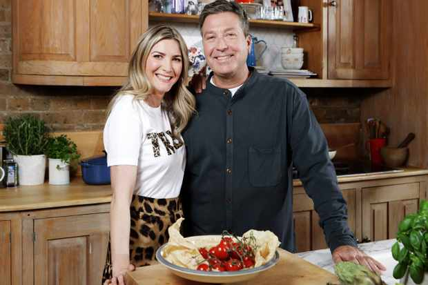 From ITV Daytime  JOHN AND LISA'S WEEKEND KITCHEN Sundays on ITV   Pictured: Lisa Faulkner and John Torode   A new cookery series with John Torode and Lisa Faulkner, John and LisaÕs Weekend Kitchen will see the couple host from a cosy modern kitchen every Sunday morning as they cook deliciously simple dishes. As they cook together they will also be sharing unique tips, neat techniques and tricks and of course, inspiring ideas for anyone who wants to cook, from keen home cooks to those starting out.    (C) ITV   Photographer: Matt Frost   For further information please contact Peter Gray 0207 157 3046 peter.gray@itv.com    This photograph is © ITV and can only be reproduced for editorial purposes directly in connection with the  programme JOHN AND LISA'S WEEKEND KITCHEN or ITV. Once made available by the ITV Picture Desk, this photograph can be reproduced once only up until the Transmission date and no reproduction fee will be charged. Any subsequent usage may incur a fee. This photograph must not be syndicated to any other publication or website, or permanently archived, without the express written permission of ITV Picture Desk. Full Terms and conditions are available on the website https://www.itv.com/presscentre/itvpictures/terms