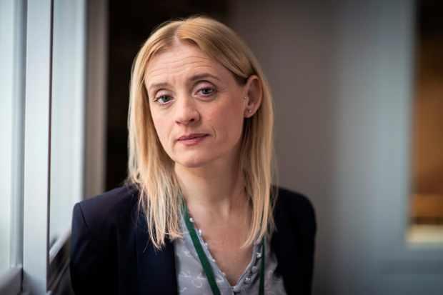 Anne-Marie Duff plays Tracy Daszkiewicz in The Salisbury Poisonings