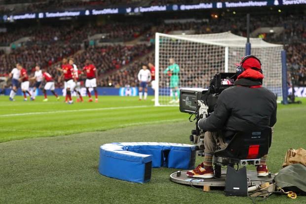 Premier League TV camera