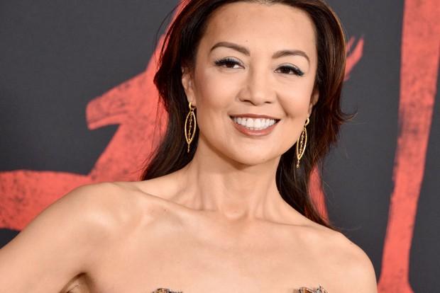 Ming Na Wen at the Mulan remake premiere
