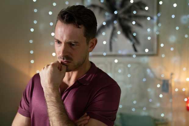 Hollyoaks Darren Osborne depression storyline