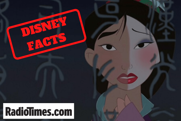Disney's Mulan facts
