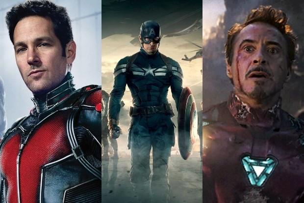 Ant Man Captain America Iron Man