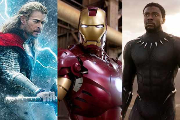 Thor Iron Man Black Panther