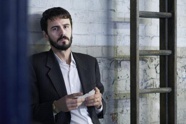 Recontruction.   Matthew Batte stars as Daniel Morgan.