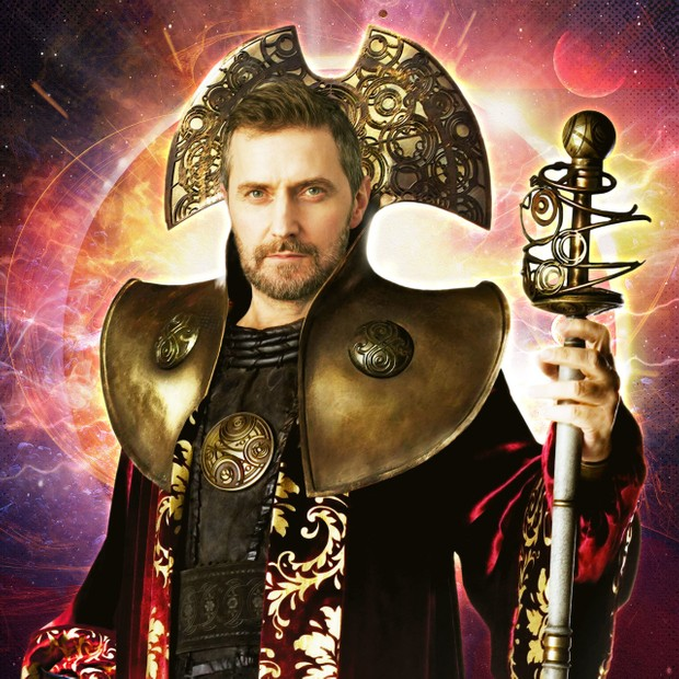 Richard Armitage as Doctor Who's Rassilon