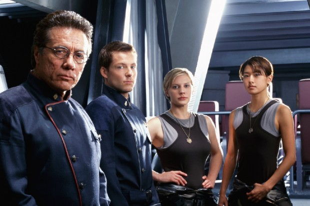 Battlestar Galactica full cast, including Edward James Olmos and Katee Sackhoff