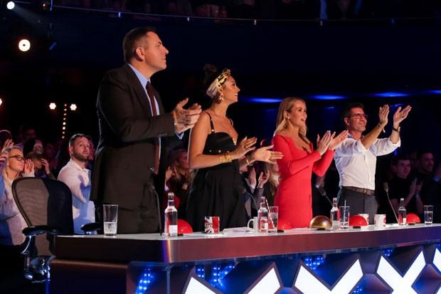 Britain's Got Talent judging panel includes David Walliams, Simon Cowell, Alesha Dixon and Amanda Holden