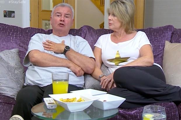 Celebrity Gogglebox Eamonn Holmes and Ruth Langsford
