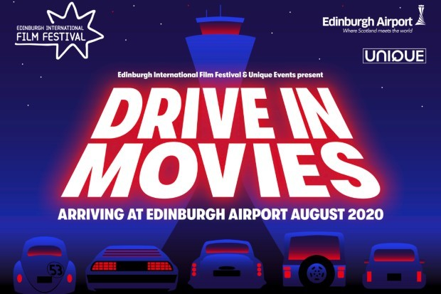 Drive-in movies at Edinburgh Airport organised by Edinburgh International Film Festival