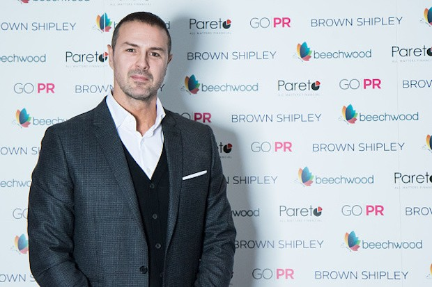 Paddy McGuinness at charity fundraiser