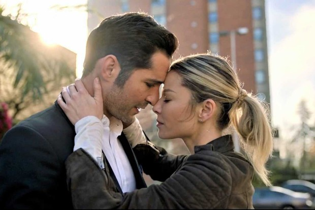 Lucifer – Tom Ellis and Lauren German