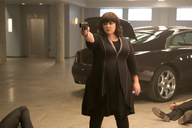 Melissa McCarthy stars in Spy (2015), directed by Paul Feig