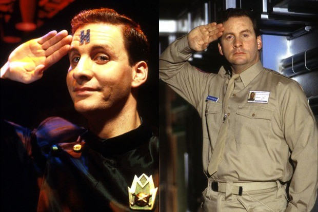 Red Dwarf – the two Rimmers (Chris Barrie)