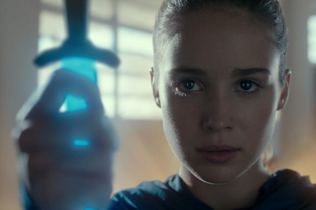 Alba Baptista stars in Warrior Nun on Netflix as Ava