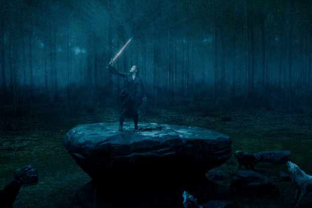 Where was Netflix's fantasy drama Cursed filmed?