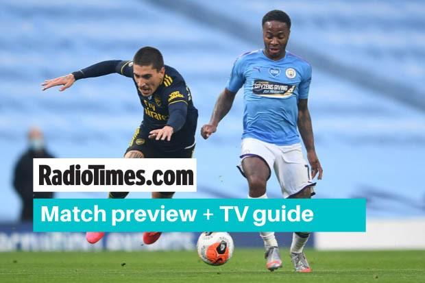 What TV channel is Arsenal v Man City on? Kick off time & live stream -  Radio Times