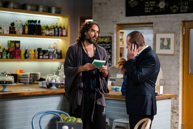 neighbours russell brand cameo