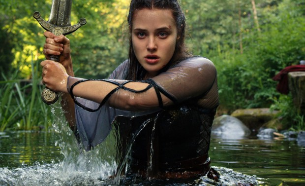 CURSED (L TO R) KATHERINE LANGFORD as NIMUE in episode 104 of CURSED Cr. Netflix © 2020
