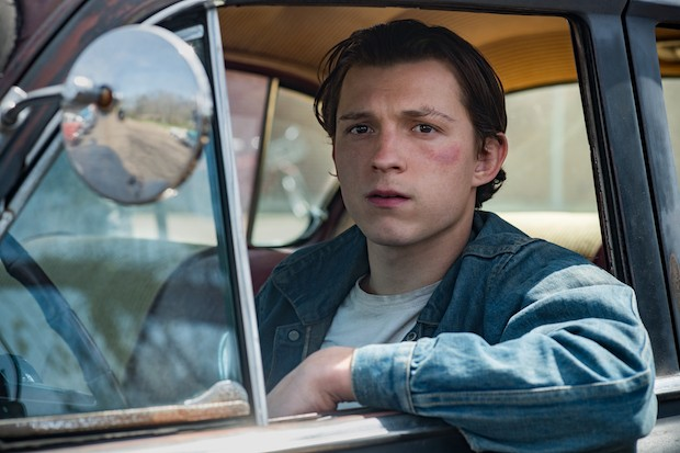The Devil All The Time: Tom Holland as Arvin Russell.