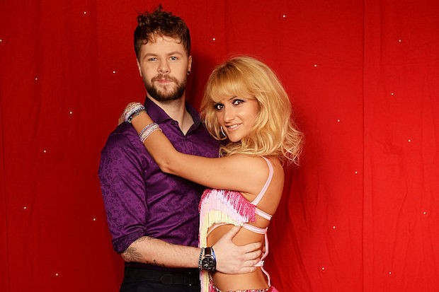 Jay McGuiness (L) and Aliona Vilani (R)