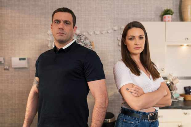 Hollyoaks Warren Fox Sienna Blake