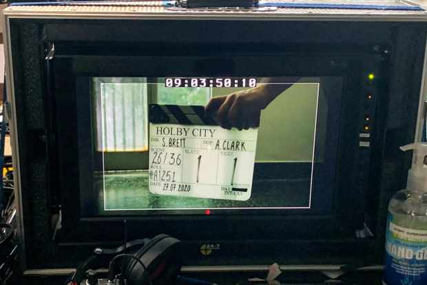 Holby City resumes filming