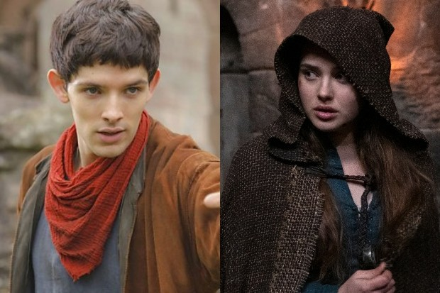 Colin Morgan Katherine Langford Cursed Merlin