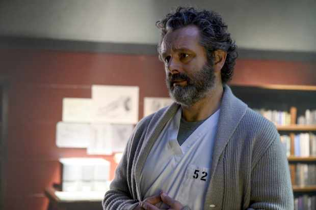 Michael Sheen plays Dr Martin Whitly in Prodigal Son
