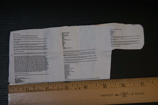 What was in the note Rey Rivera left behind? All the theories behind the Unsolved Mysteries case