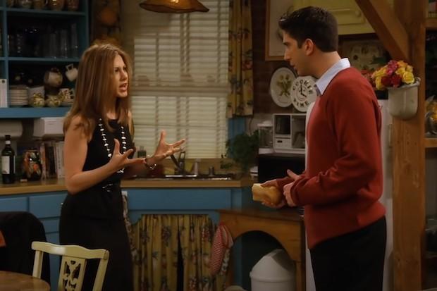 Rachel and Ross in Friends