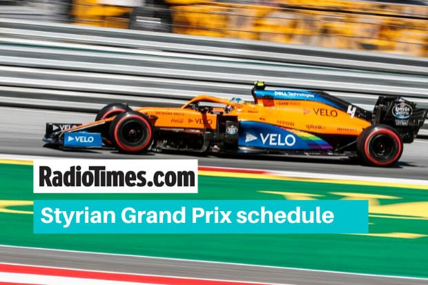 What Time Is The Styrian Grand Prix Start Time Tv Coverage Race Guide Radio Times