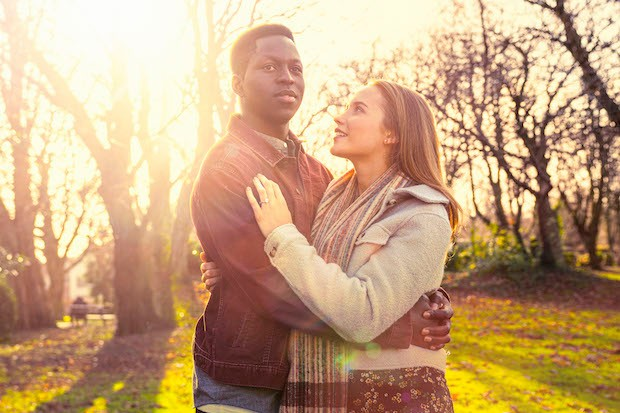 Toheeb Jimoh and Julia Brown in Anthony