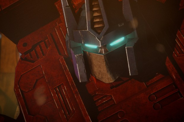 Optimus Prime as he appears in Netflix's Transformers: War For Cybertron part one (Siege)