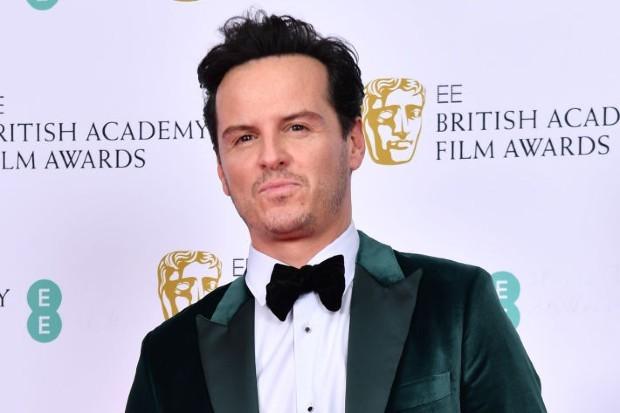 Andrew Scott, star of Fleabag and Sherlock, at the 2020 EE BAFTAs