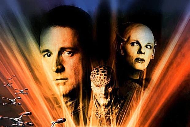 Babylon 5: In The Beginning TV movie, set in the Babylon 5 universe
