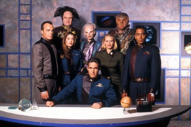 Full cast of TV series Babylon 5 (season one)