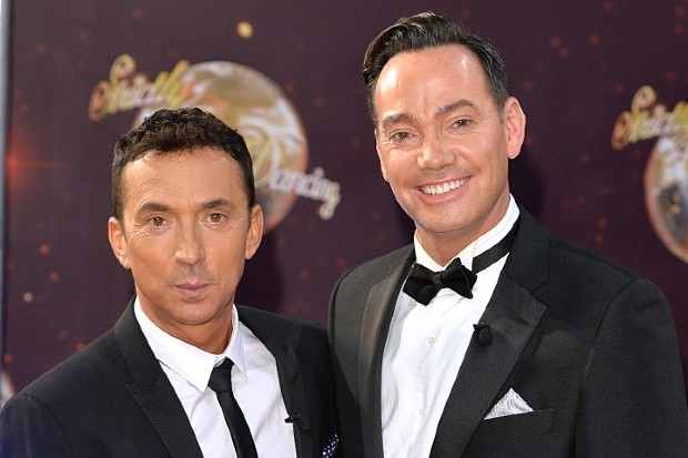 Craig Revel Horwood and Bruno Tonioli are judges on BBC One's Strictly Come Dancing