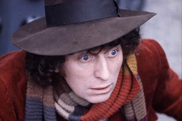 Tom Baker as the Fourth Doctor in Doctor Who