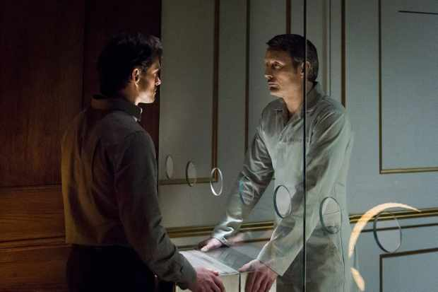 Hannibal – Hugh Dancy as Will Graham, Mads Mikkelsen as Hannibal Lecter