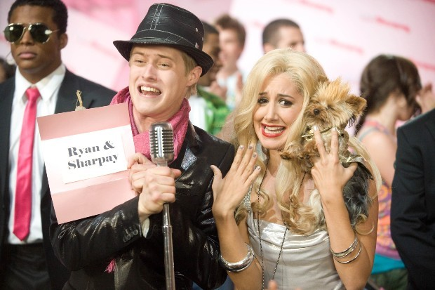 Lucas Grabeel and Ashley Tisdale play Ryan and Sharpay in High School Musical 3