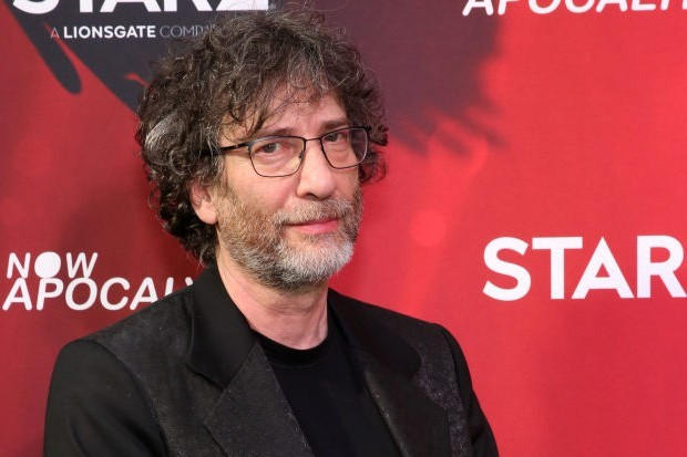 Neil Gaiman, writer of Good Omens and the upcoming Sandman on Netflix