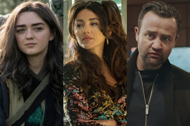 Maisie Williams, Michelle Keegan and Danny Mays – Sky comedy