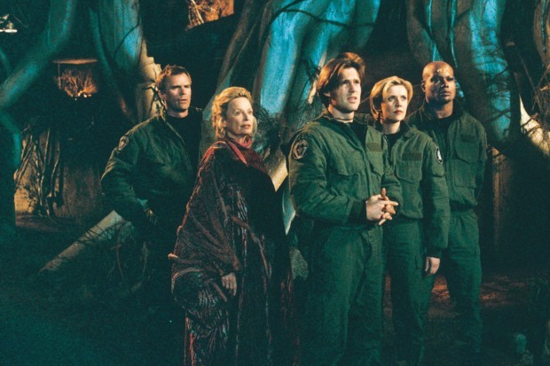 Stargate SG-1 cast photo (season two)