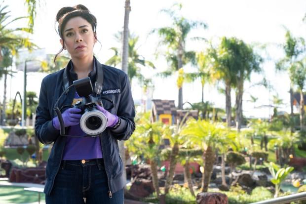 Aimee Garcia plays Ella Lopez in Lucifer