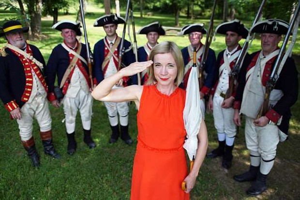 Lucy Worsley (American History's Biggest Fibs)