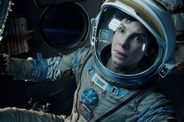 Sandra Bullock stars in Gravity (2013)